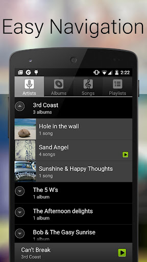 Music Player - Audio Player & MP3 Player Screenshot