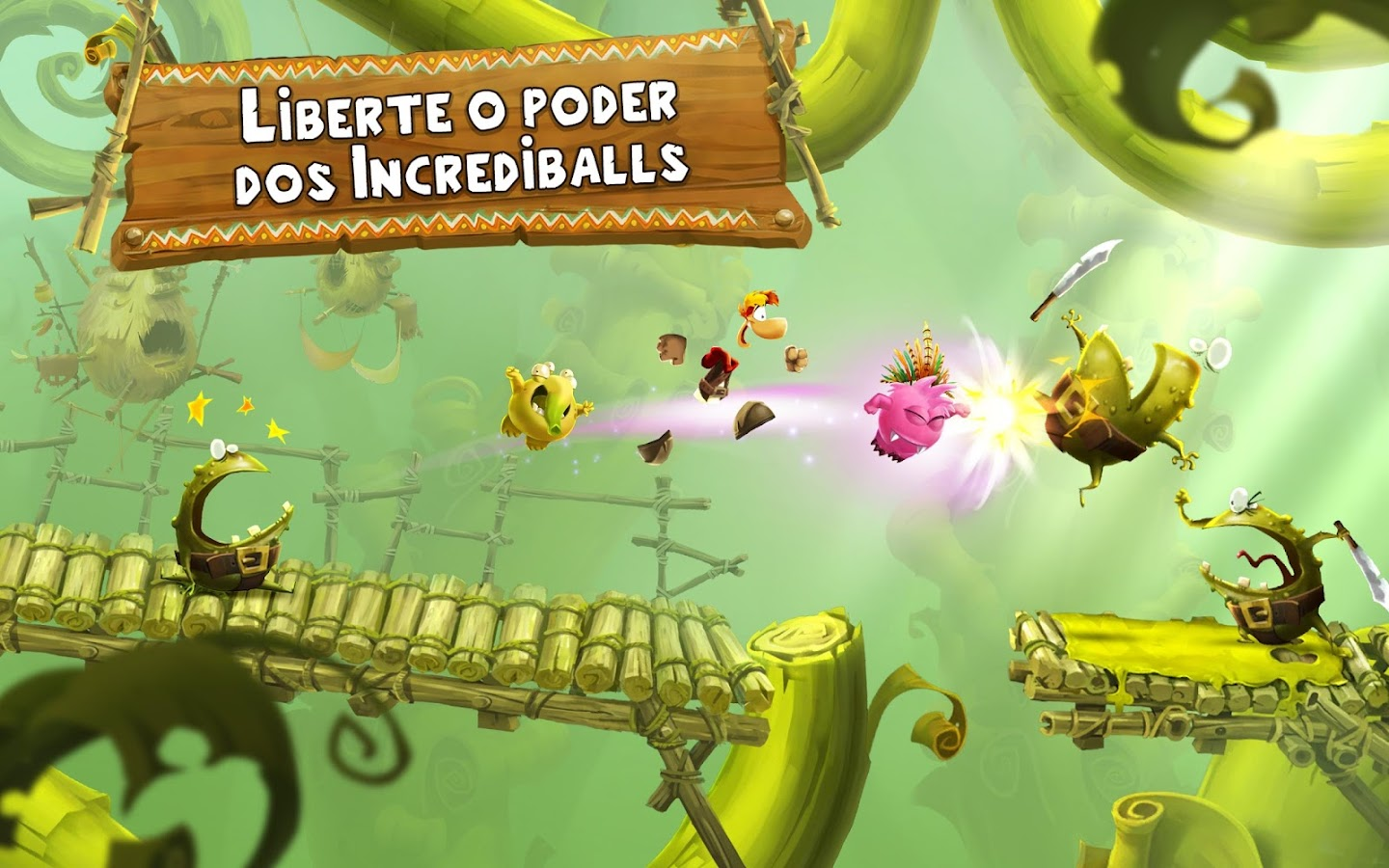 Rayman Adventures: captura de tela