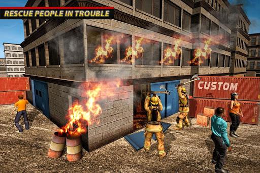 Fire Truck Ambulance Driver: Fire Rescue Games 1.0 screenshots 10