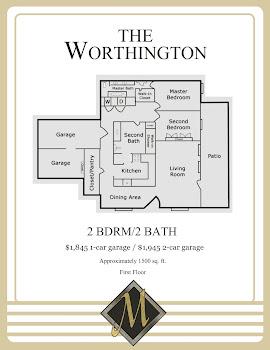 Go to Worthington Floorplan page.