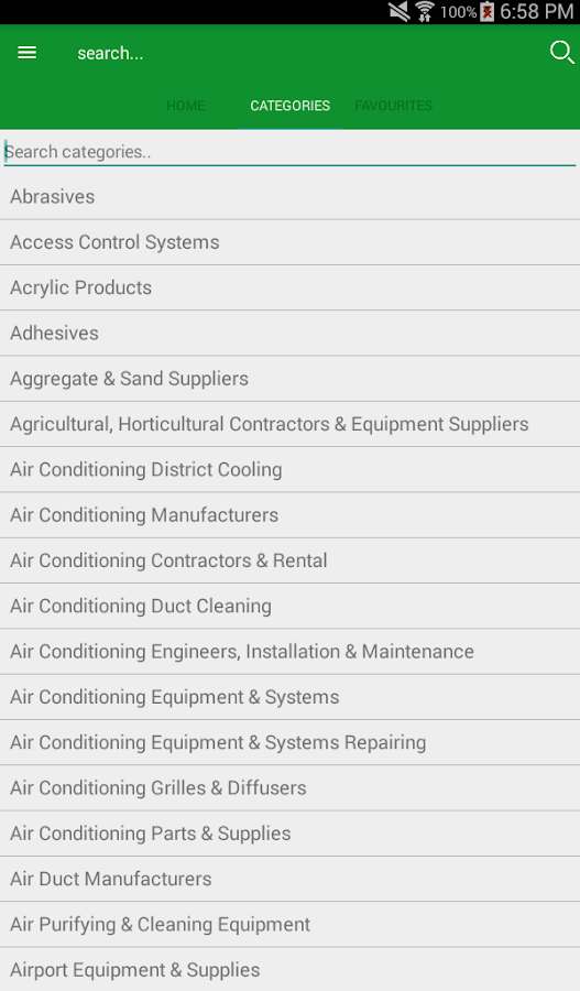 UAE Contractors- screenshot