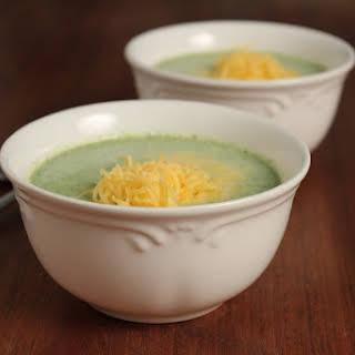 Easy Cream of Broccoli Soup.