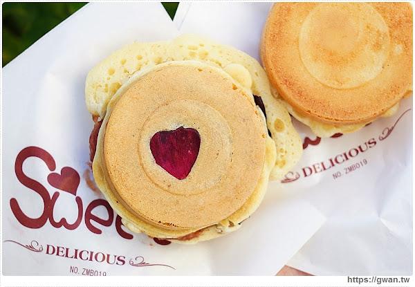 開心紅豆餅 | 全台獨創花香紅豆餅,玫瑰、野薑花都入餡,每天限量40顆,嚐鮮剩最後三天!