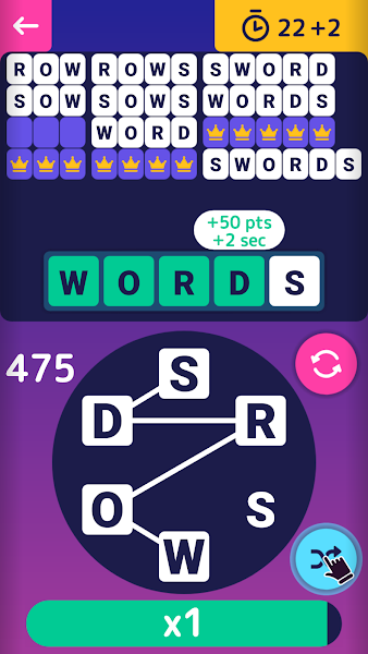 Word Flip - Classic word connect puzzle game