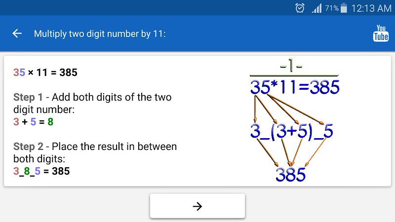 Math Tricks Screenshot 9