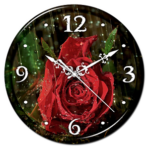 Rain Rose Clock Live Wallpaper  Android Apps on Google Play