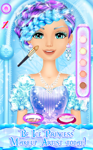 Ice Princess Makeup 4