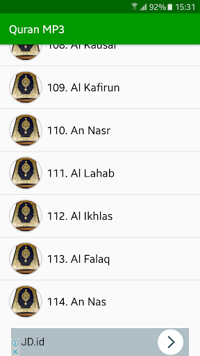 Quran MP3 Full Offline screenshot 4