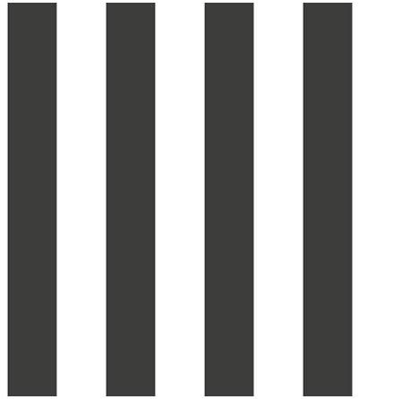 Christiana Masi Hashtag 5665 Tapet med ränder, Svart/Vit