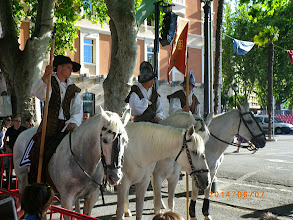 Photo: garde à cheval