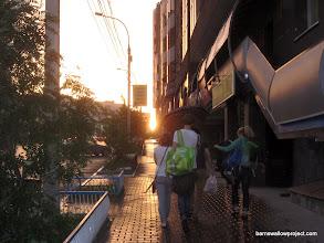 Photo: sunshowers in Novosibirsk