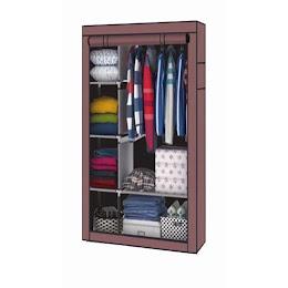 Dulap textil pentru haine, 110 x 45 x 175 cm