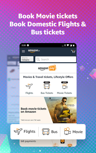 Amazon Shopping, UPI, Money Transfer, Bill Payment 20.18.0.300 Screenshots 5