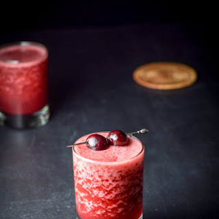 Frozen Cheerful Cherry Margarita