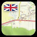 Great Britain Topo Maps icon