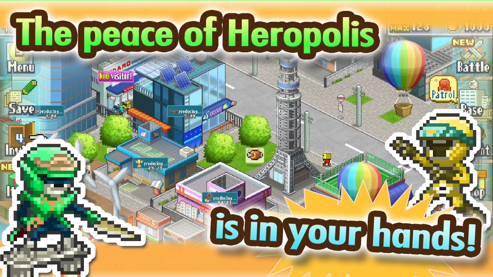 Legends of Heropolis- screenshot
