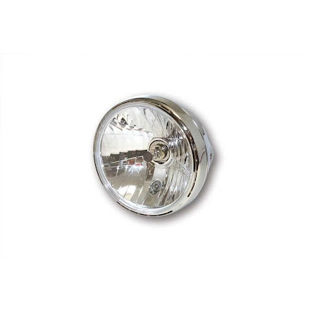 7-tums Reno 2 med LED-ring, krom