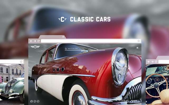 Classic Cars - Vintage Automobile Wallpapers