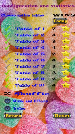 3D Multiplication Table Kids