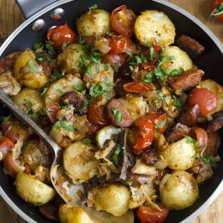 Potato & Sausage Hash.