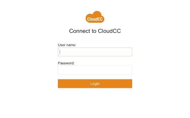 CloudCC extension