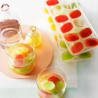 Melon And Vodka Ice.