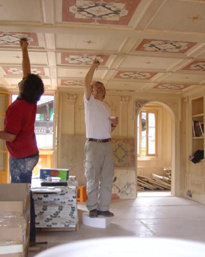 Décor plafond Gstaad