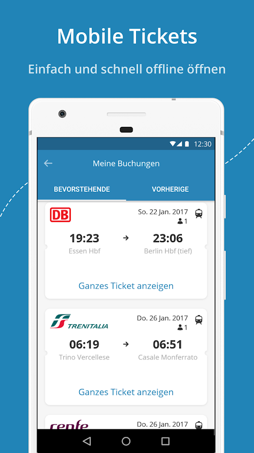 GoEuro - Bahn, Bus, Flug – Screenshot