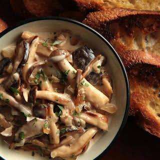 Wild Mushrooms à la Crème.