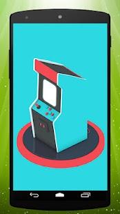 Télécharger Blue Arcade Live Wallpaper Apk 12 Apk Pour Android