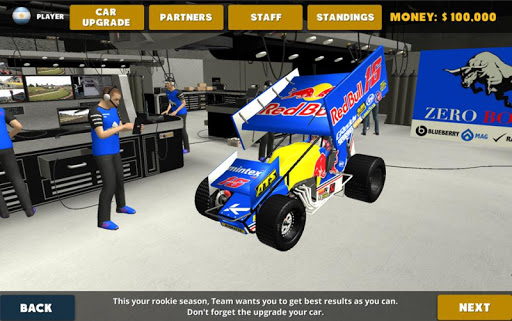 Screenshot for Outlaws - Sprint Car Racing in United States Play Store