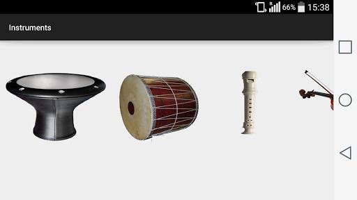 楽器を再生します
