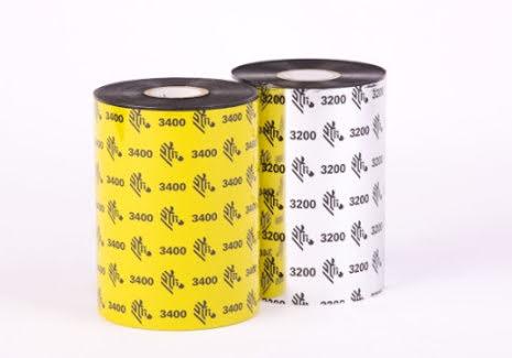 Färgband Zebra 3200 Premium Wax/Resin