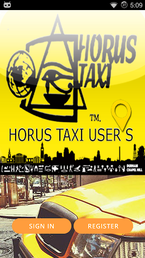 Horus taxi LLC Riders APP
