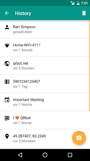QR Code Reader (No Ads)- screenshot thumbnail