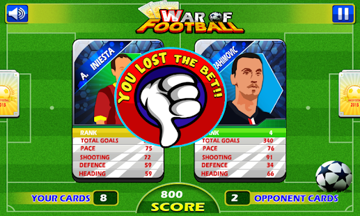 War of Football- screenshot thumbnail