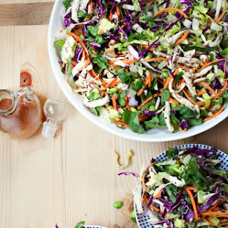 Asian Sesame Chicken Salad.