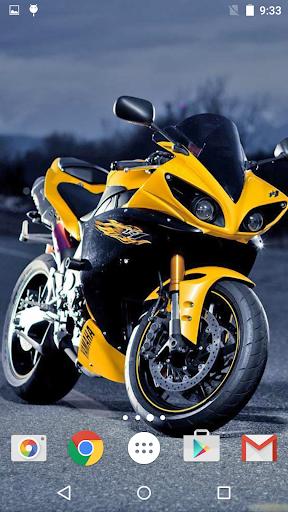 オートバイ ライブ壁紙