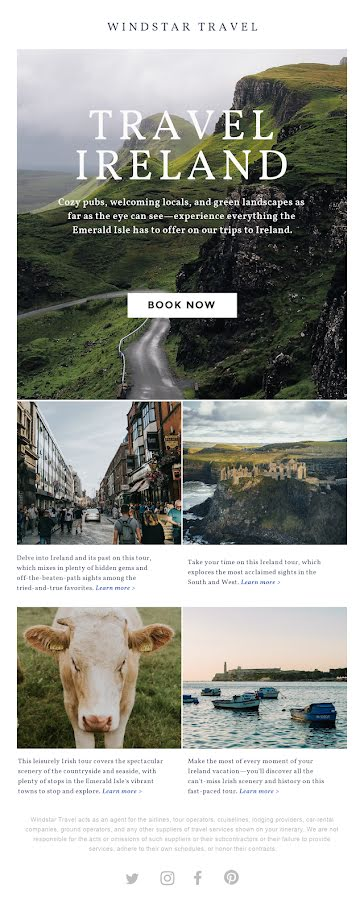 Travel Ireland - St. Patrick's Day Template