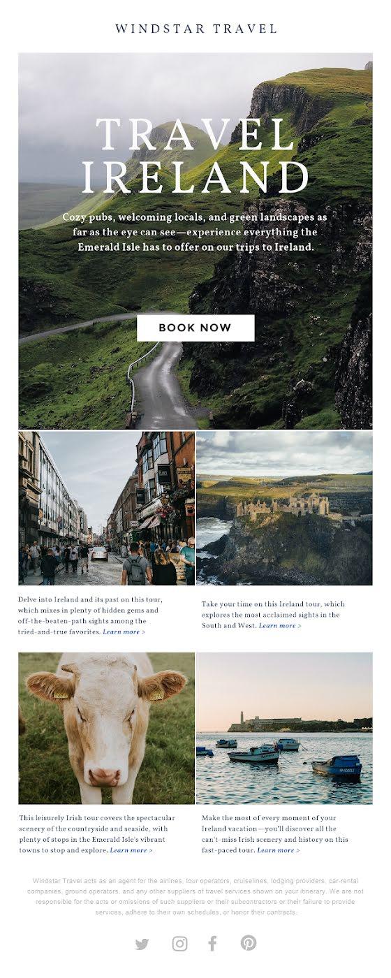 Travel Ireland - St. Patrick's Day Template
