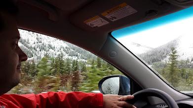 Photo: Nobody on the road -> happy Simon