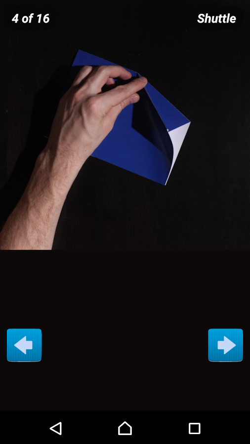how to make that paper folding game
