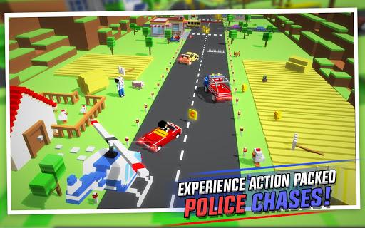 Crossy Brakes : Blocky Toon Racer screenshots 2