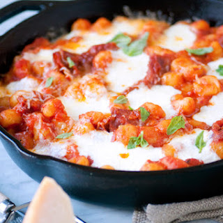 Cheesy Mini Gnocchi Skillet