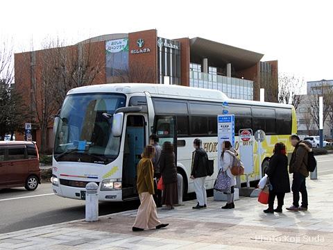 北海道バス「帯広特急ニュースター号」106便 ・977 帯広駅前改札中