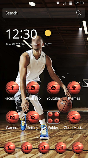 籃球主題圖標運動員喜歡的皮膚