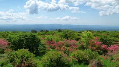 Photo: 遠望は八溝の山山