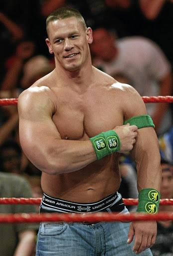 Professional wrestler John Cena.