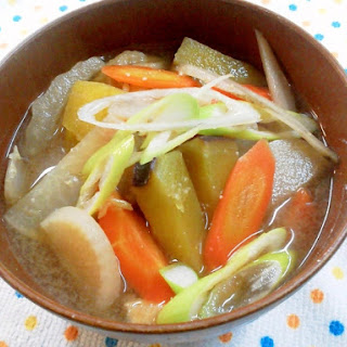 Miso Soup with Vegetables Galore
