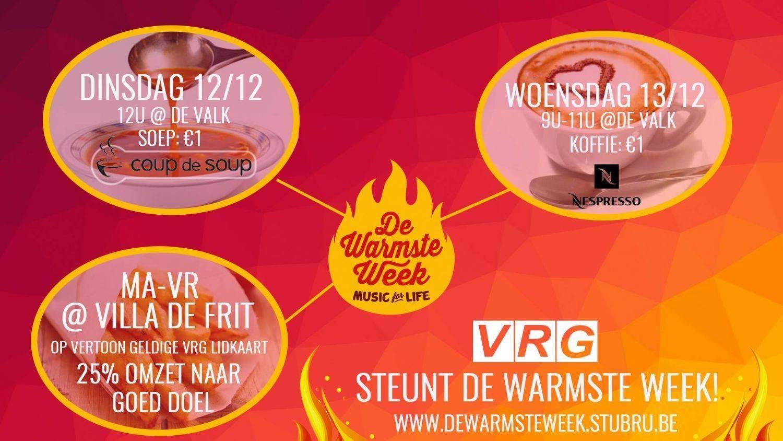 VRG steunt Warmste Week